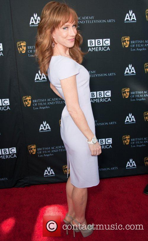 Kelly Griffin and Bafta 2