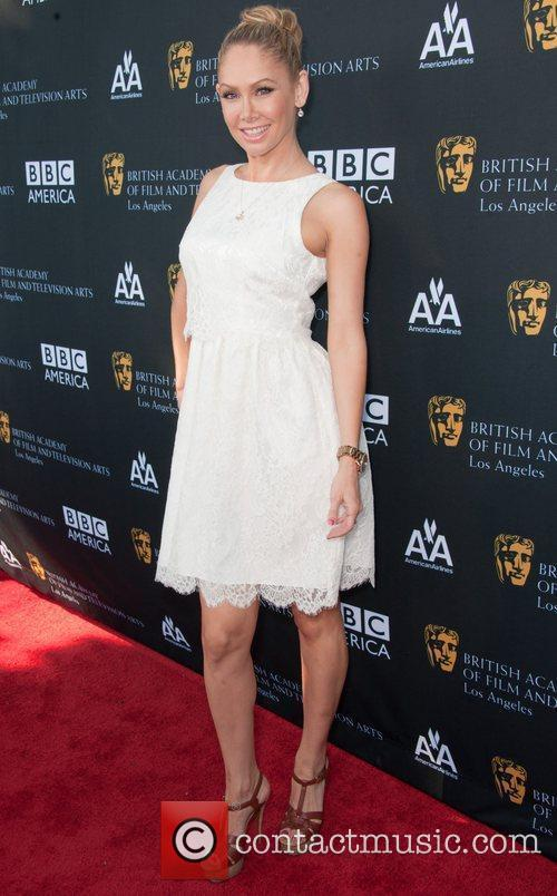 Kym Johnson and Bafta 1