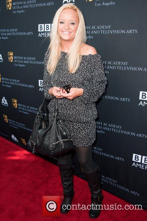 Lucy Davis and Bafta 2