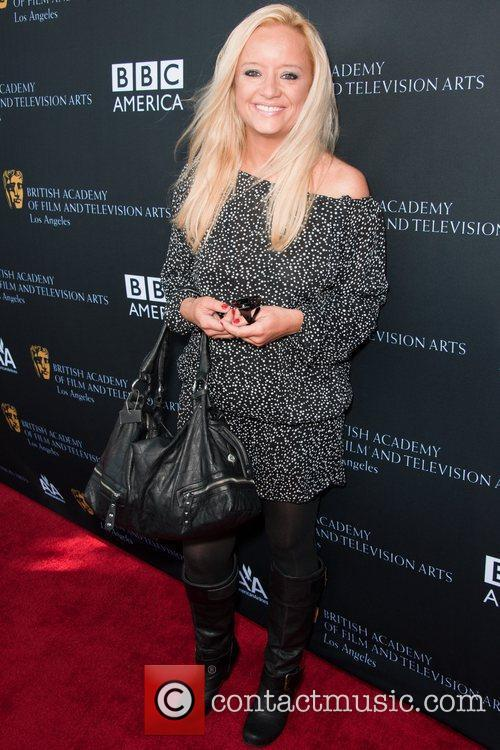 Lucy Davis and Bafta 3