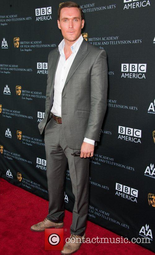 Owain Yeoman and Bafta 1