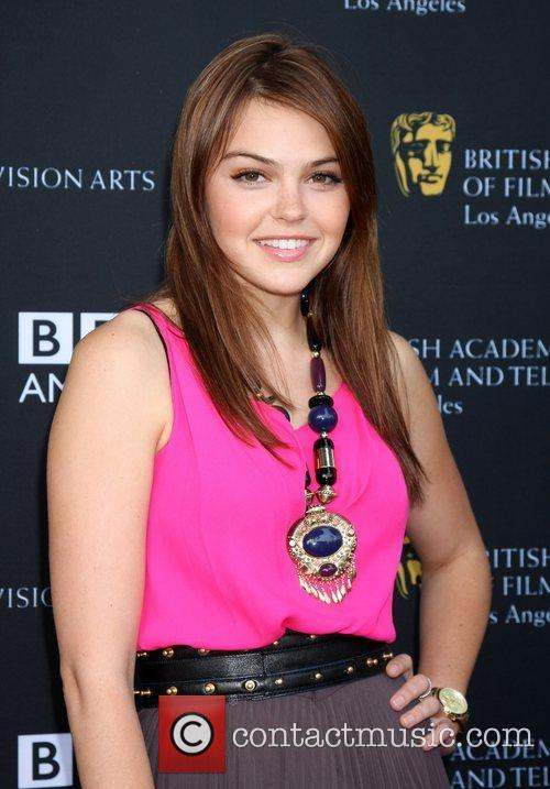 Aimee Teegarden and Bafta 1