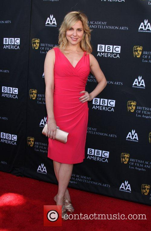 Cara Buono and Bafta 9
