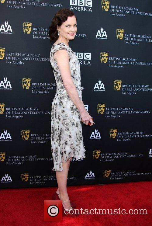 Elizabeth Mcgovern and Bafta 1