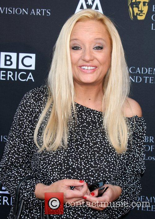 Lucy Davis and Bafta 1