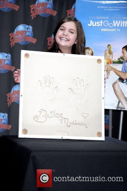 Wizards of Waverly Place star, Bailee Madison promotes...