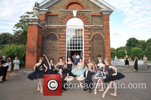 Atmosphere English National Ballet - summer party held...