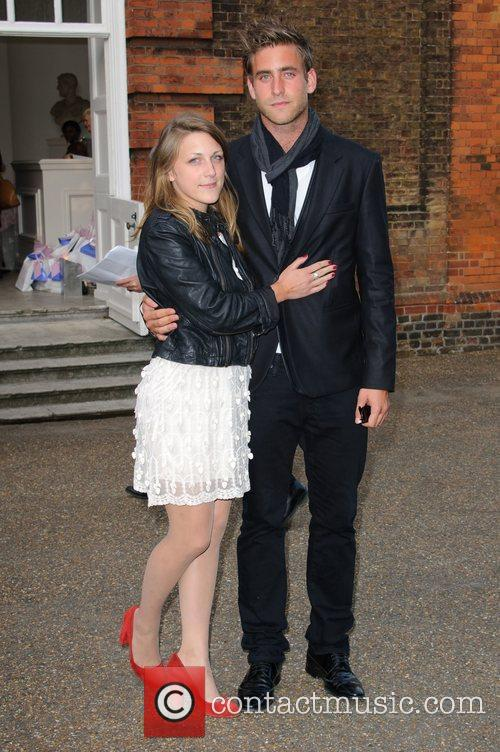 Oliver Jackson-Cohen English National Ballet - summer party...