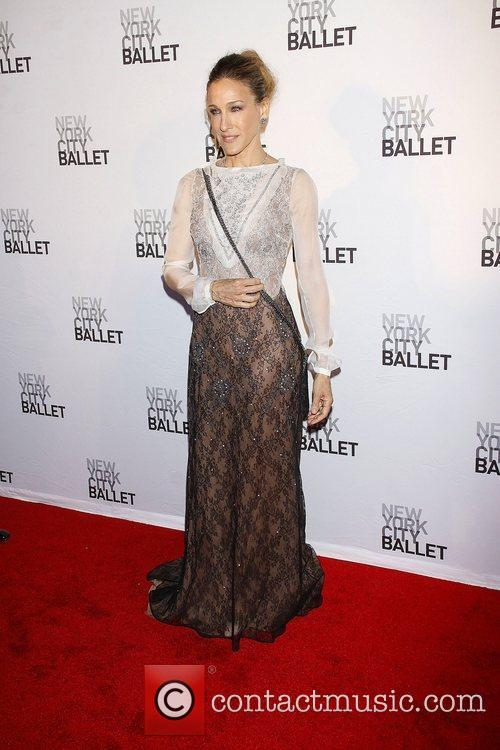 Sarah Jessica Parker wearing Valentino  New York...