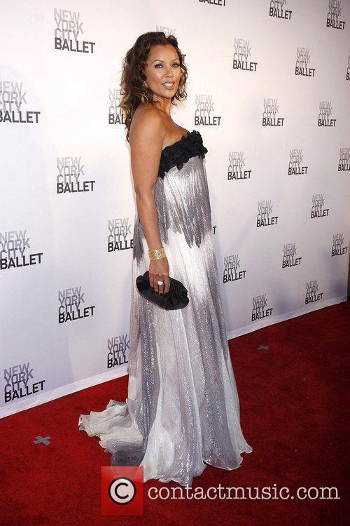 Vanessa Williams wearing Carmen Marc Valvo  New...