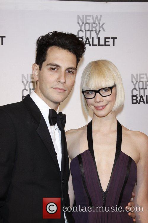 Gabe Saporta and Erin Fetherston New York City...
