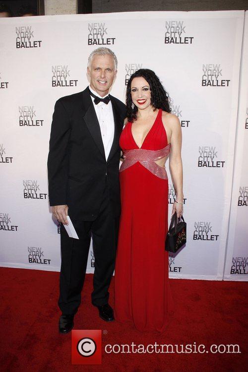 Patrick Cassidy and Melissa Hurley New York City...