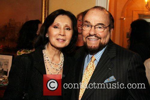 James Lipton and his wife Kedakai Turner The...