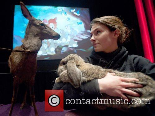 Handler Animals attend a special screening to commemorate...