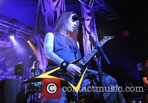 Children of Bodom performing at the O2 Academy...