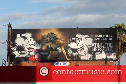 Banksy, Billboard and City High 3