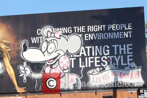 Banksy, Billboard and City High 5
