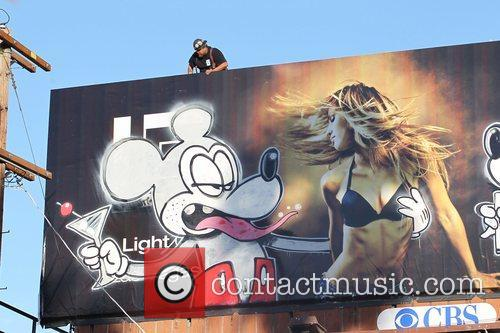 Banksy, Billboard and City High 4