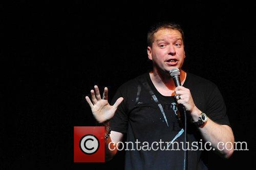 Actor/Comedian Gary Owen performing during The Barber Shop...