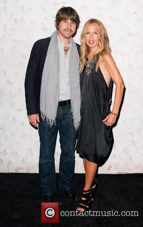 Roger Bern and Rachel Zoe Barneys New York...