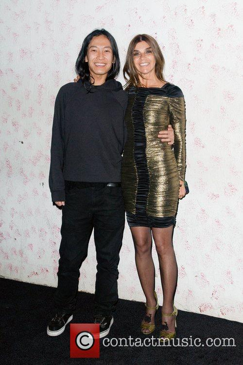 Alexander Wang and Carine Roitfeld 2