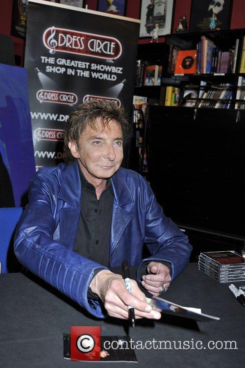 Barry Manilow  makes a personal appearance at...