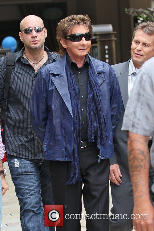 Barry Manilow arriving at The Grove for the...