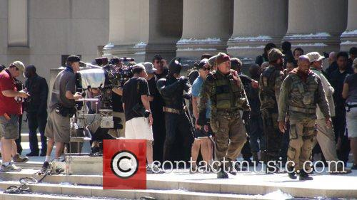 'Dark Knight Rises' filming in Pittsburgh