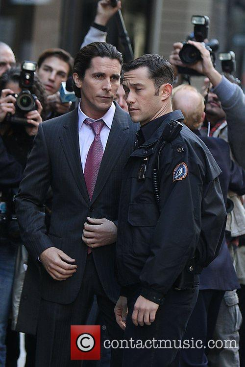 Christian Bale, Batman, Joseph Gordon-Levitt and The Dark Knight 5
