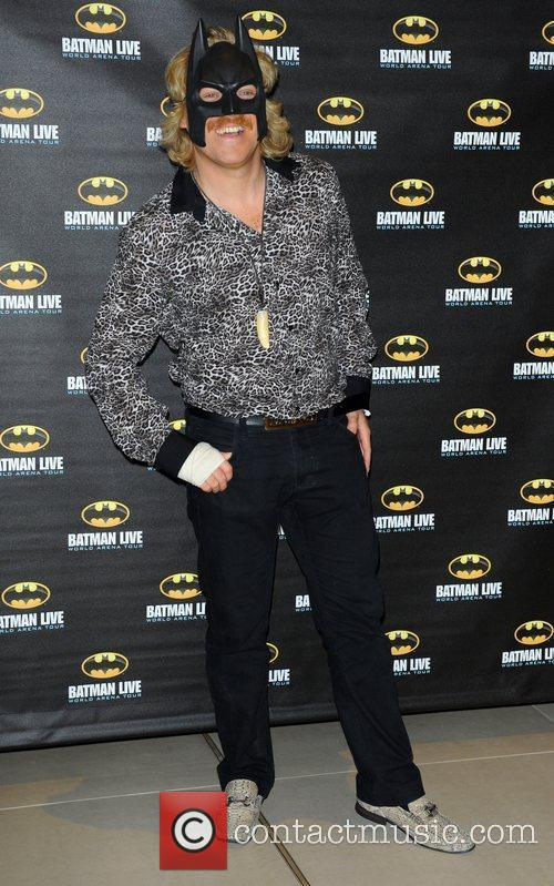 Leigh Francis attending the Batman Live gala performance...