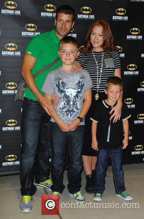 Natasha Hamilton and family