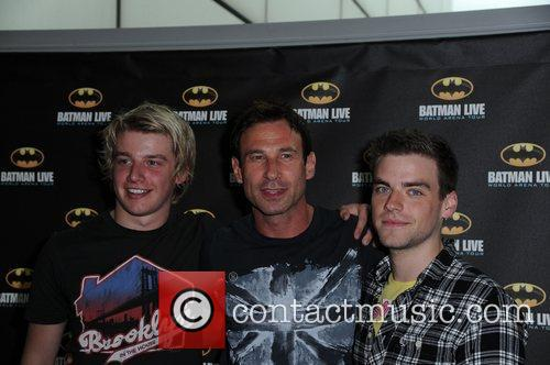Miles Higson, Paul Opacic,and PJ Brennan  'Batman...