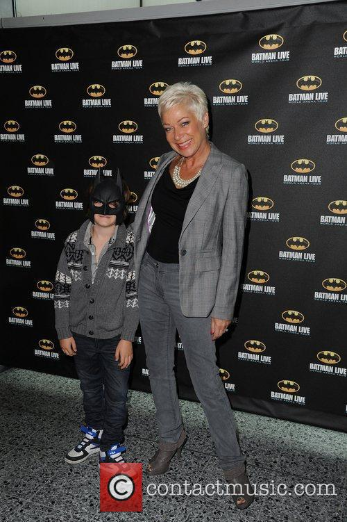 Denise Welch (R.) and Son  'Batman Live'...