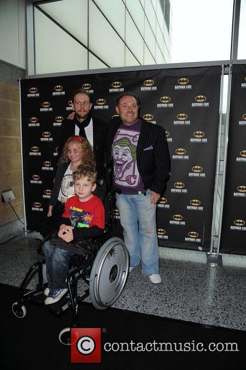 John Thomson (R.) and family...