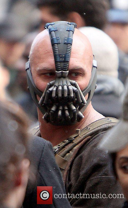 On the Batman movie set of 'The Dark...