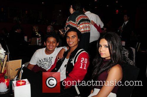 Michael Jackson's nephews Jermajesty Jackson, Randy Jackson and...