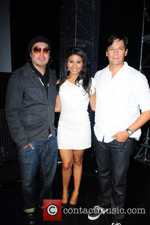 Steven Paul Judd, Genevieve Jackson and Actor Chaske...