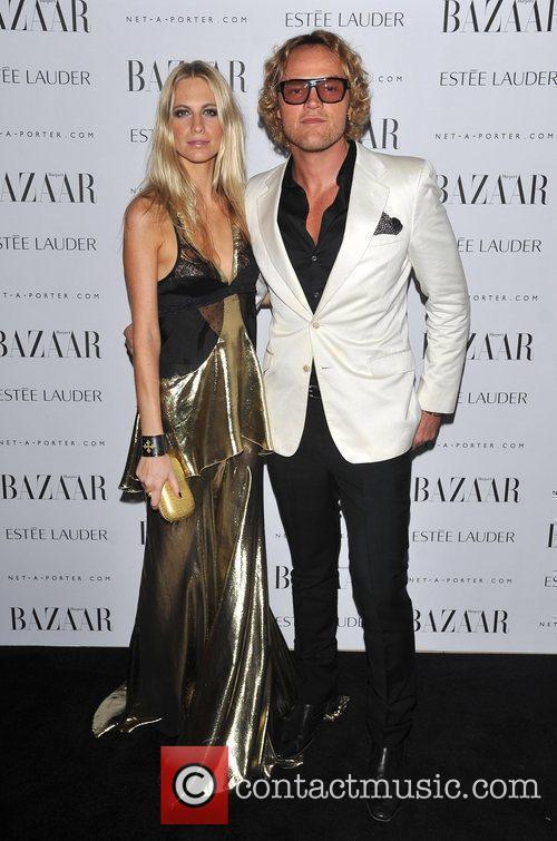 Poppy Delevigne and guest Harper Bazaar's Women of...