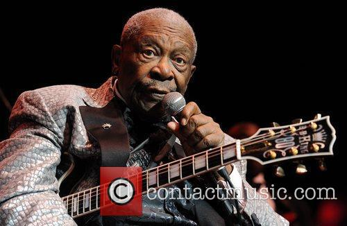 B.B. King performs at Royal Albert Hall