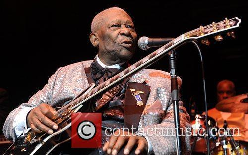B.B. King performs at Royal Albert Hall London,...