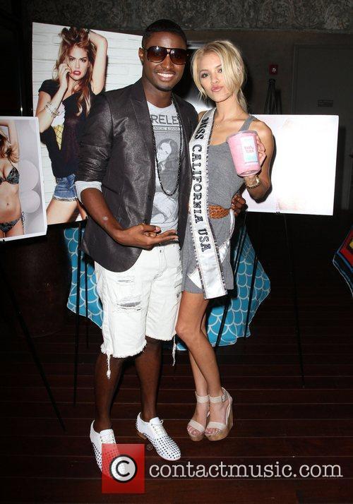 JC Jones and Miss California 2011 Katie Blair...