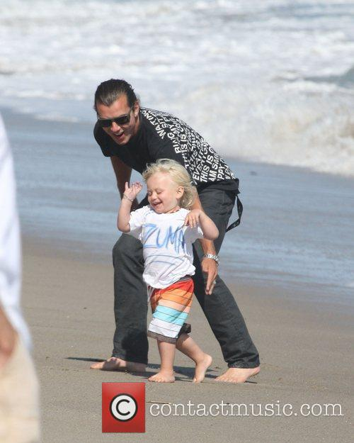 Gavin Rossdale with son Zuma Rossdale,  at...