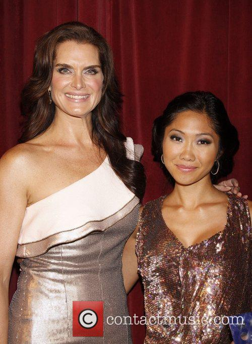 Brooke Shields and Julie Chang  at the...