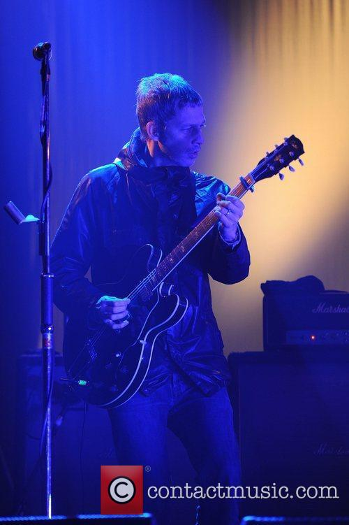 Andy Bell of Beady Eye perform in concert...