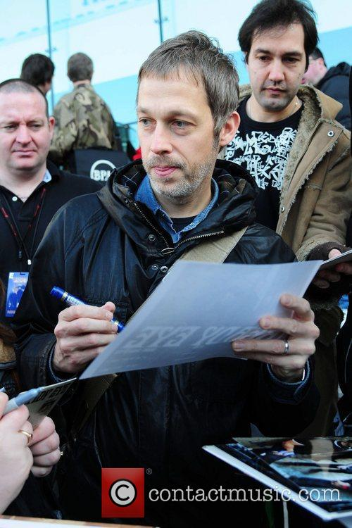 Andy Bell Members of Beady Eye are seen...