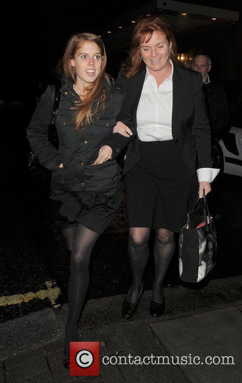 Princess Beatrice and Sarah Ferguson 12