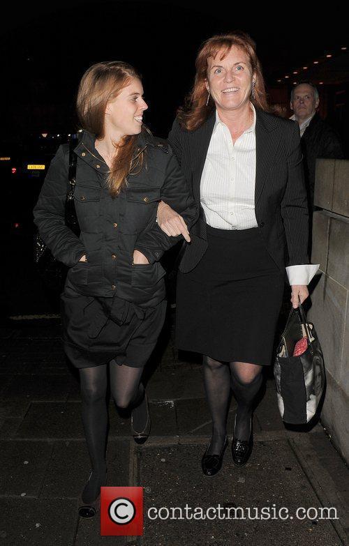 Princess Beatrice and Sarah Ferguson 17