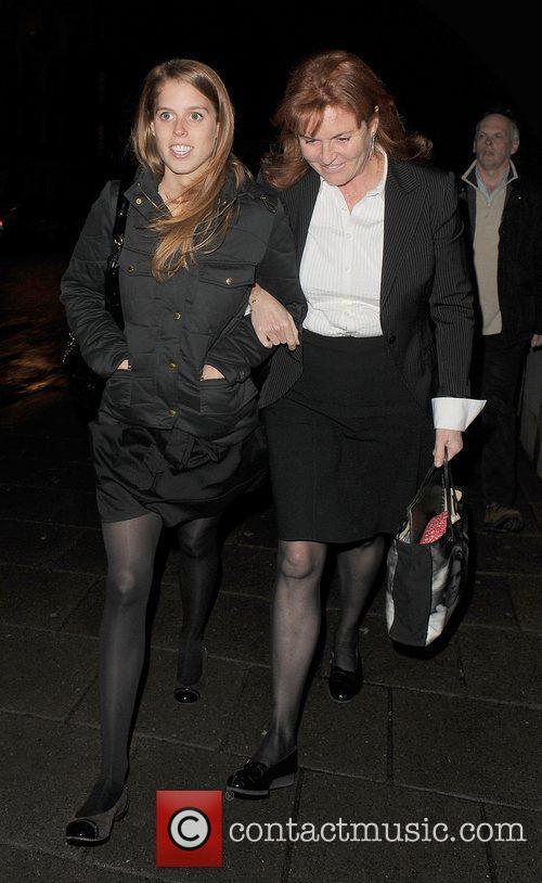 Princess Beatrice and Sarah Ferguson 16
