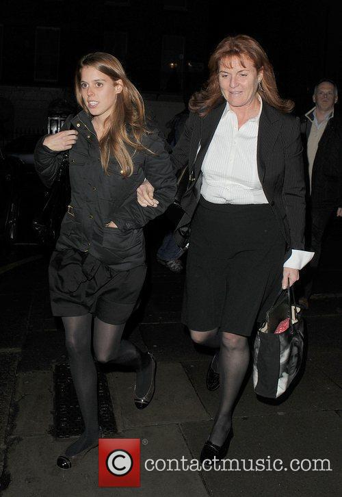 Princess Beatrice and Sarah Ferguson 2