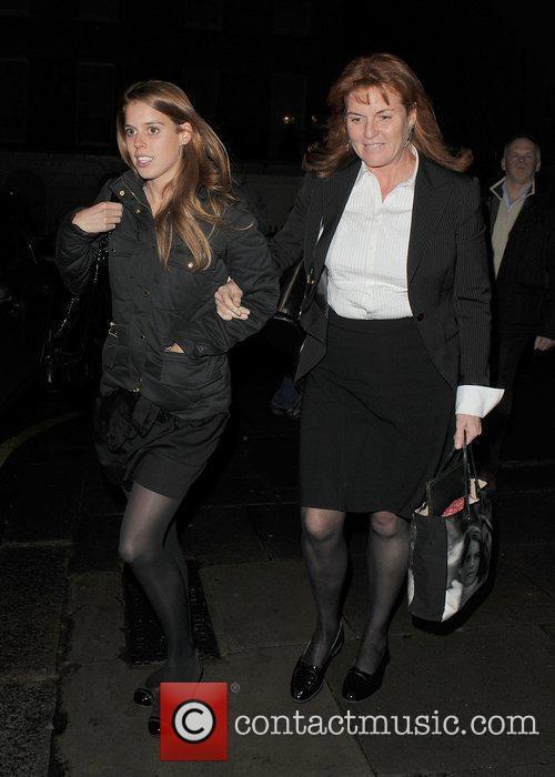 Princess Beatrice and Sarah Ferguson 18